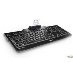 Tastatur mit Chipkartenleser CHERRY JK-A0100FR-2