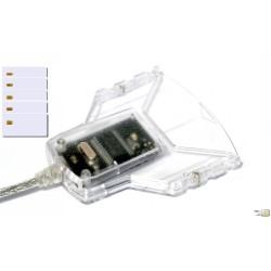 PACK GEMALTO : 1 x Kiipkaardilugeja PC USB TR + 5 SMART CARDS SLE 5528