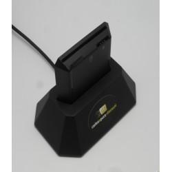 Lecteur de cartes a puce & cartes sim USB CAPD R301-U DESK
